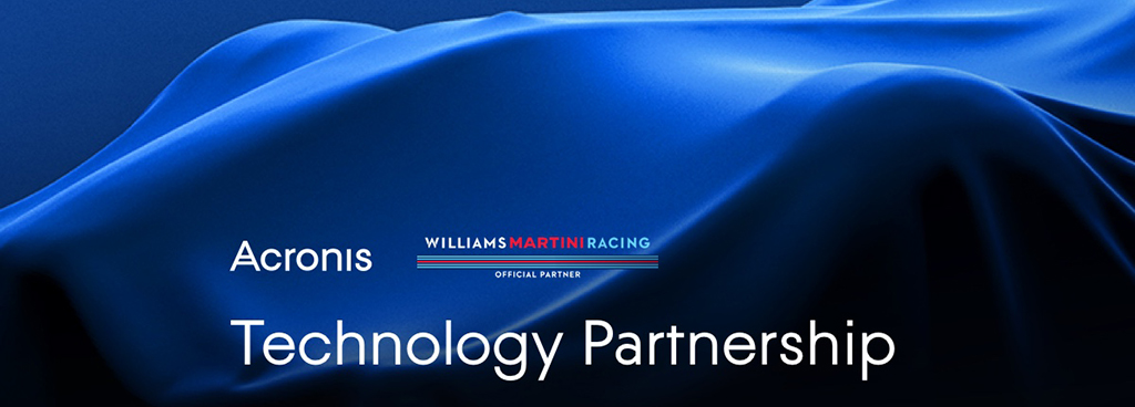 Acronis и команда «Формулы-1» Williams Martini Racing объявляют о начале стратегического технологического партнерства